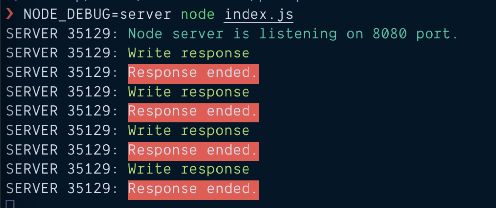 Cover image for On demand & colorful console log in NodeJS