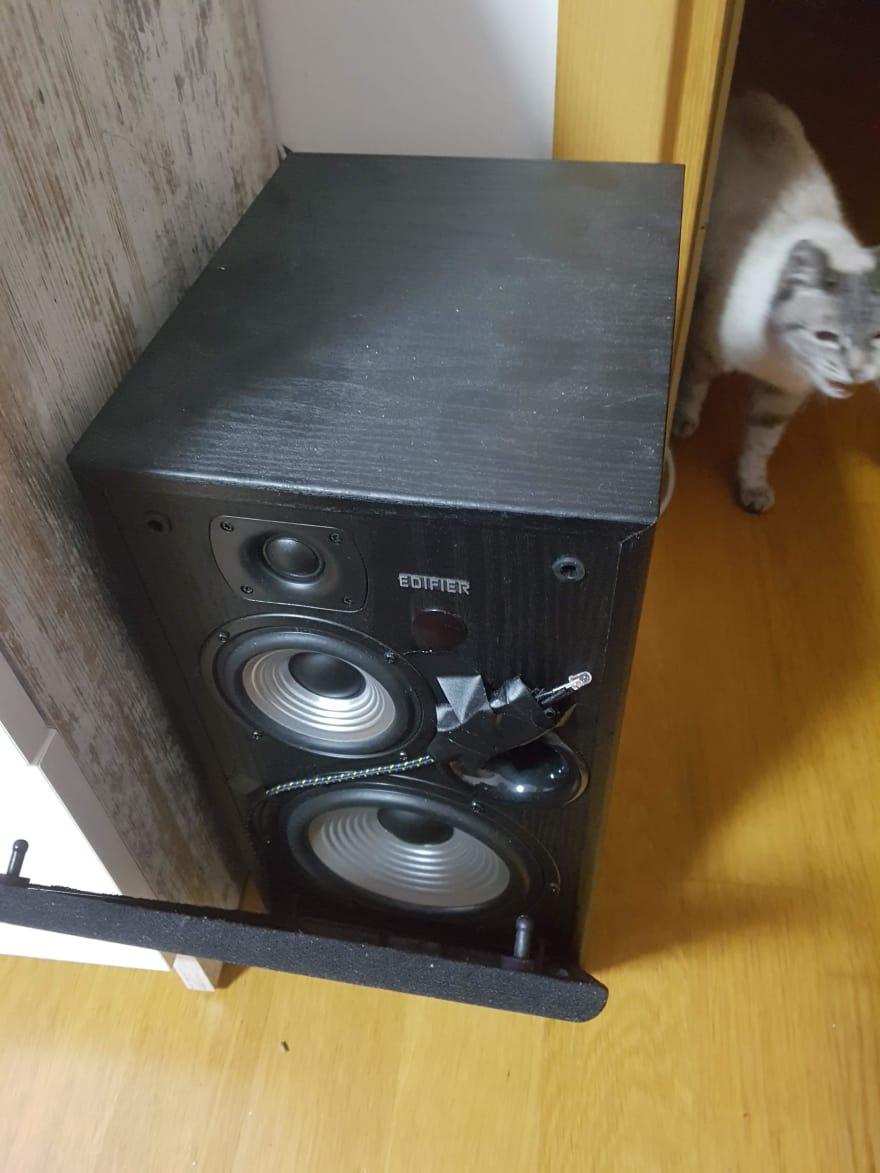 Speakers setup