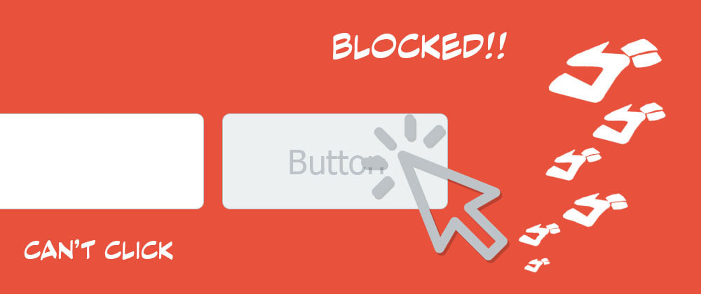 Cover image for You can block a button if a field is not filled with pure CSS