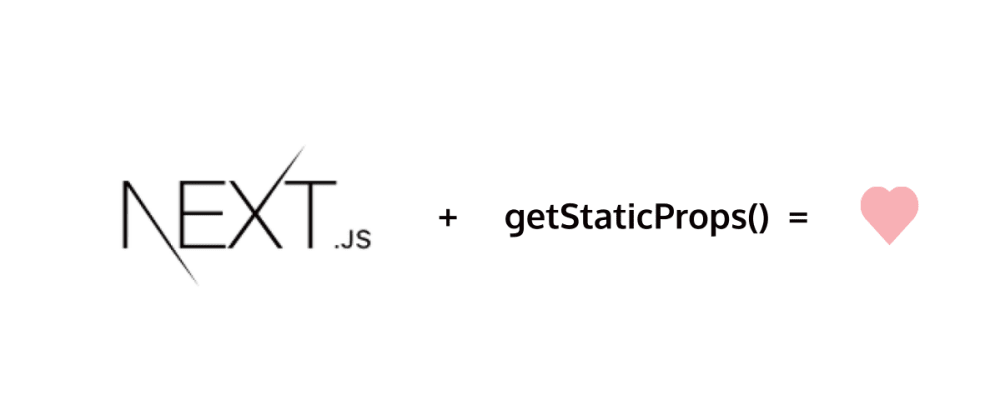 Cover image for  Static site generation in Nextjs using getStaticProps() function