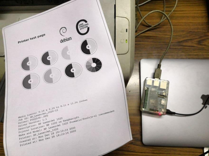A Test Printer Page