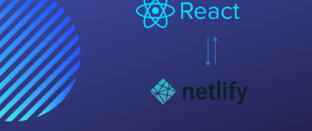 Cover image for Deploying React applications to Netlify