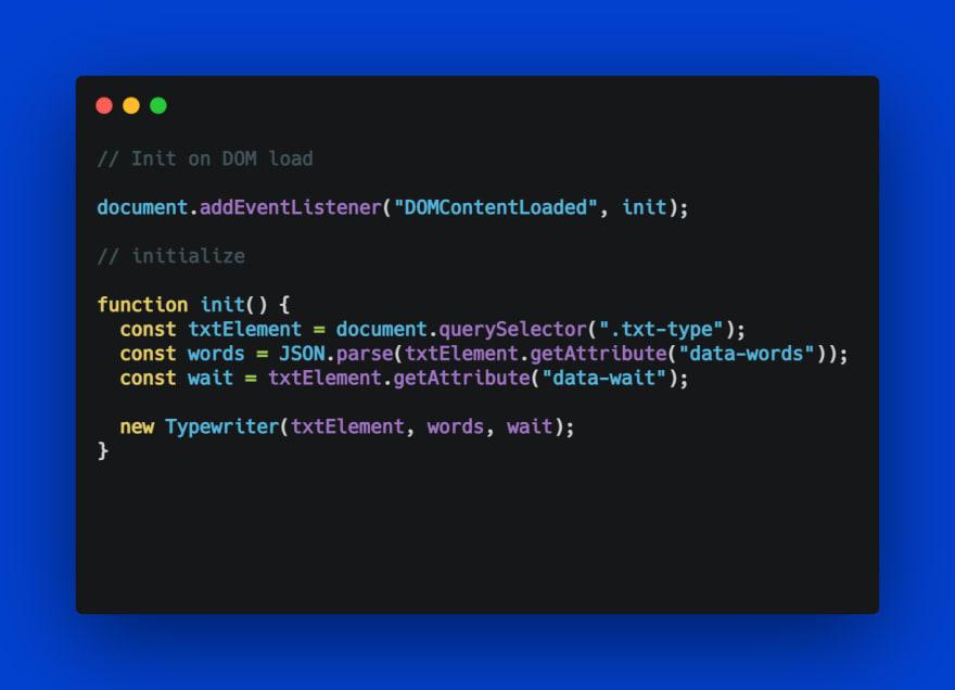 Best on Javascript Typewriting