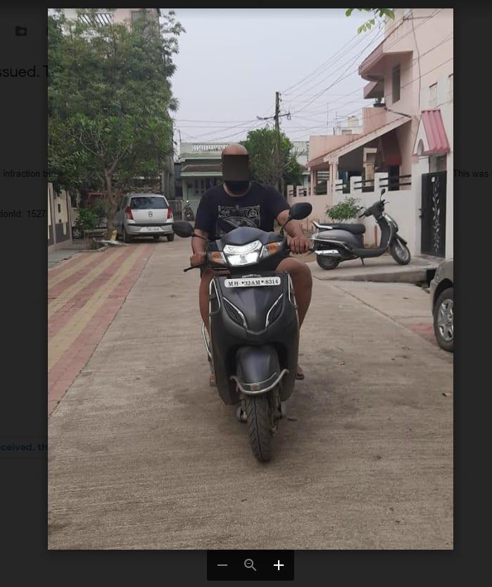 Blurred Image in Attachment