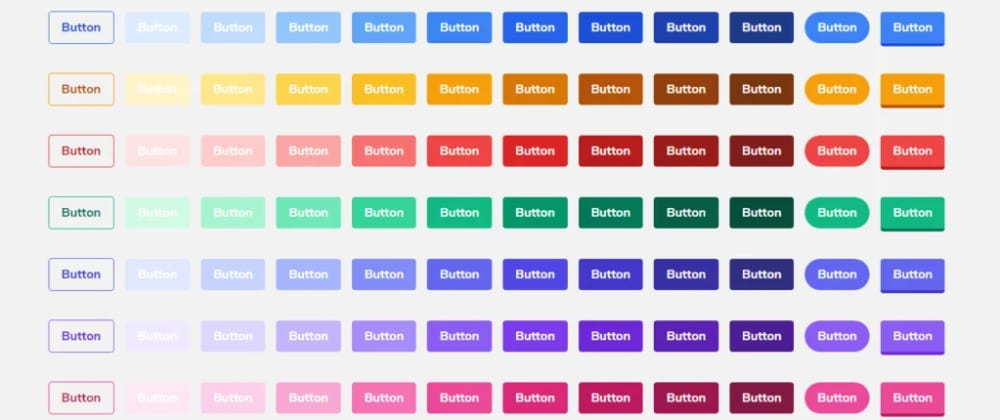 Cover image for Tailwind CSS Buttons UI Kit