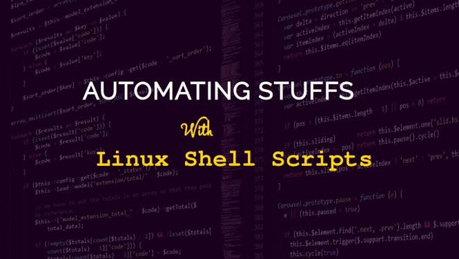 Automating Stuffs: Introduction to Linux Shell Scripting - DEV