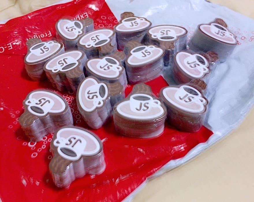 KopiJS stickers, from Zigpac, Alibaba