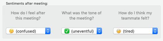 Screenshot of Digamo's sentiment capture interface<br>