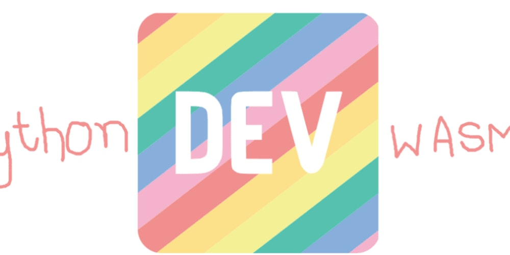 Create Dev's offline page with Python (Pyodide) and