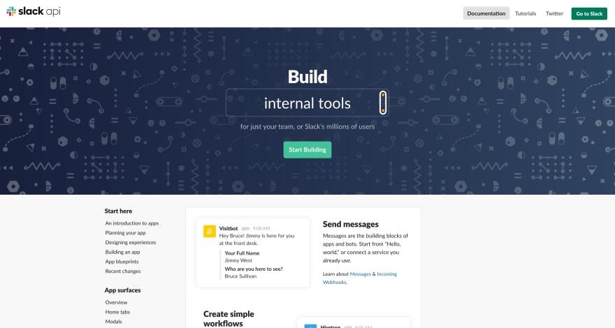 Slack API Documentation