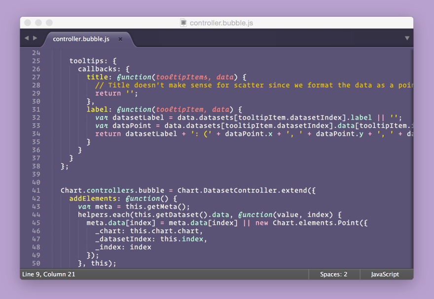 Screenshot of theme from GitHub page