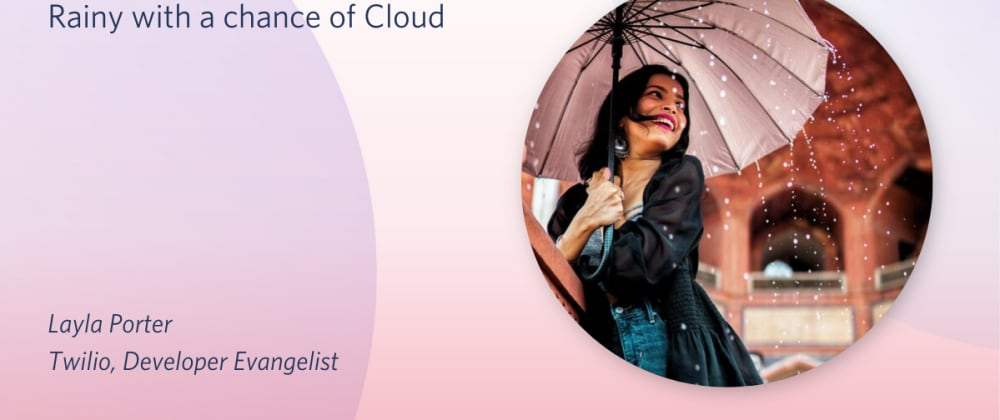 Cover image for Rainy with a chance of Azure cloud