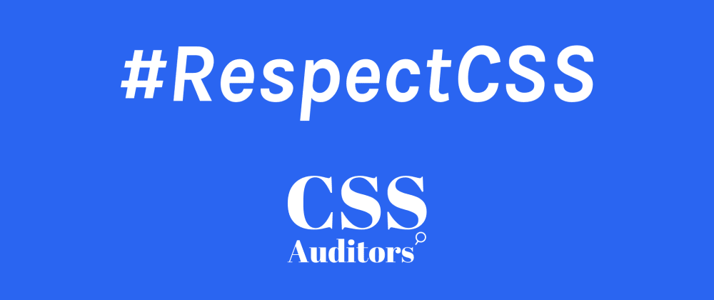 Cover image for So, how many of you respect CSS as a programming language?