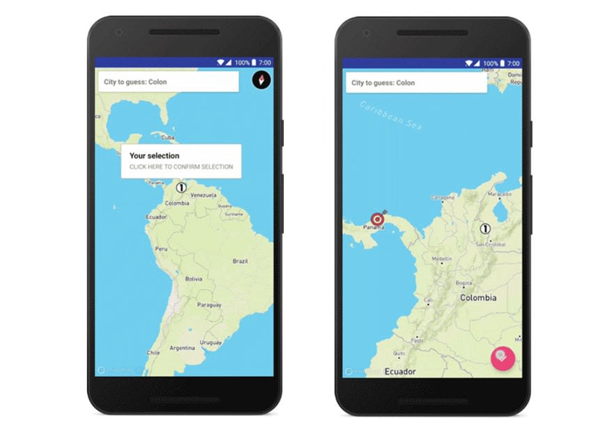 Create a mobile game with the Mapbox Maps SDK - DEV