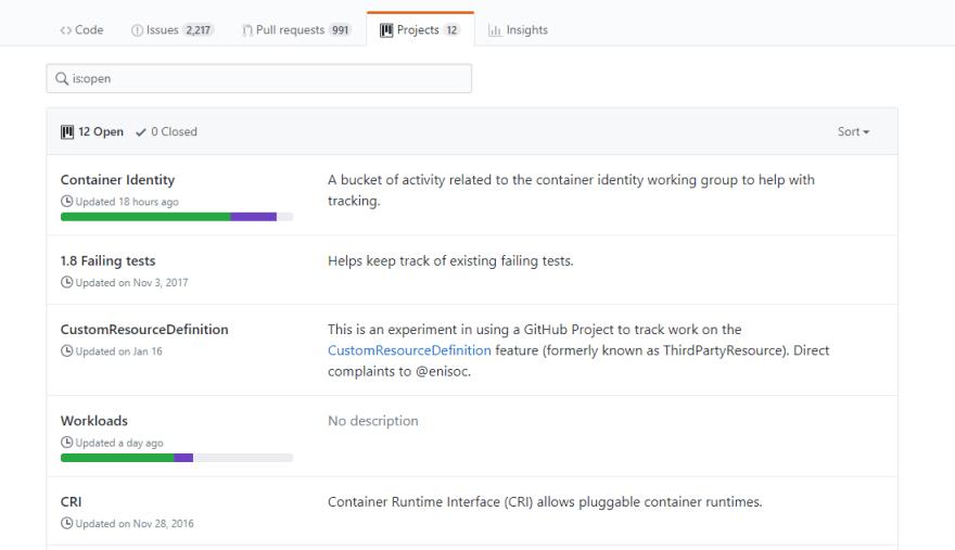 kubernetesProjectSection