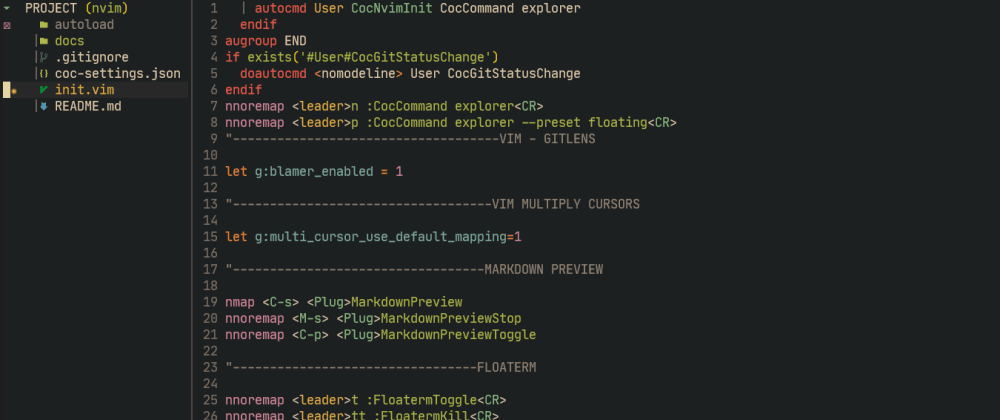 Cover image for Vim CoC Explorer..Explorador de archivos más rápido de todos