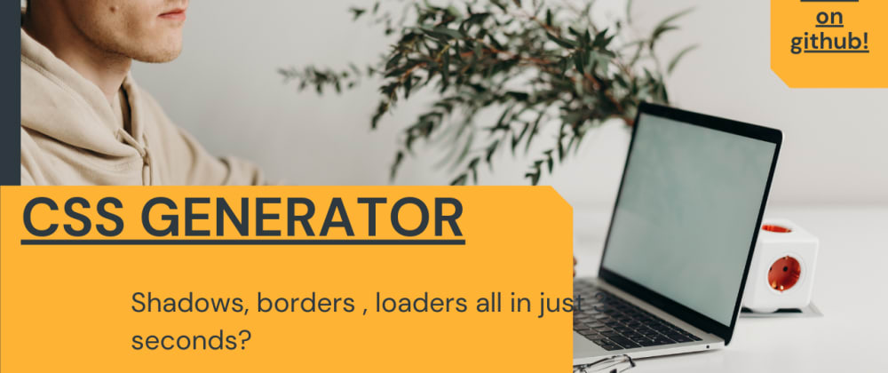 Cover image for Ultimate CSS Code Generator tool on the web! 2021 Free