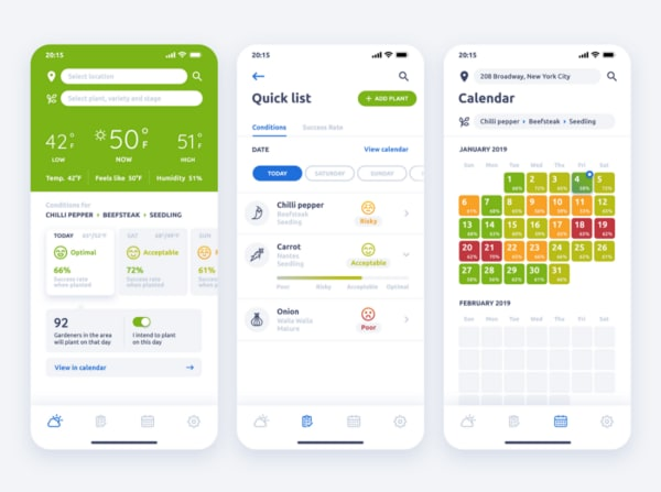 Weather App Mobile Dashboard