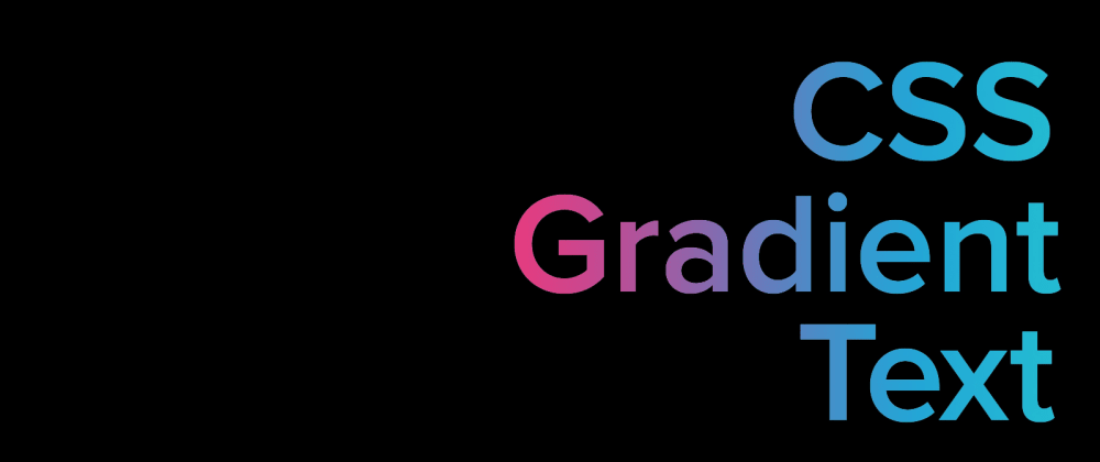 Cover image for Fluid Animated CSS Gradient Text Effect