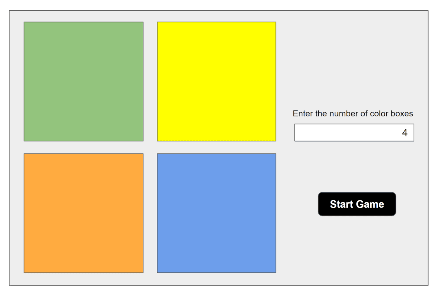 Color Guesser Game