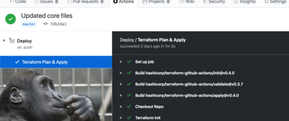 Cover image for The Ultimate Terraform Workflow: Setup Terraform (And Remote State) With Github Actions