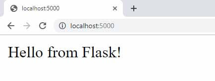 Flask Boilerplate - First run