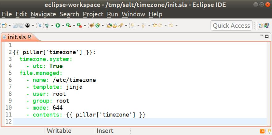 SaltStack plugin for Eclipse