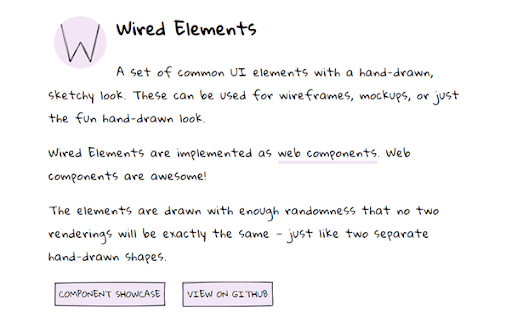 wired elements