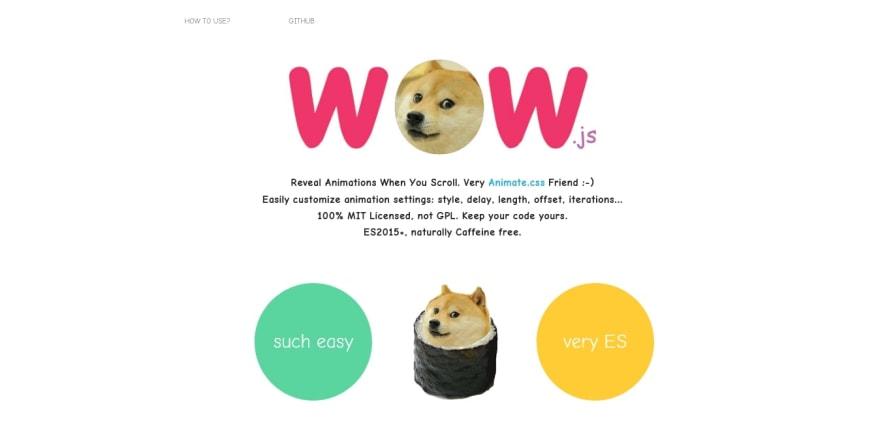 wow js — Reveal Animations When Scrolling.jpg