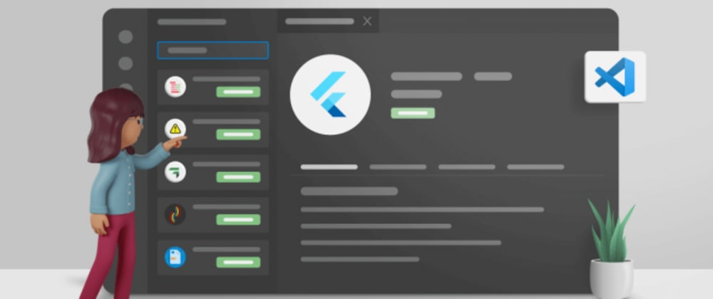 Cover image for 10 Best Visual Studio Code Extensions for Flutter Development