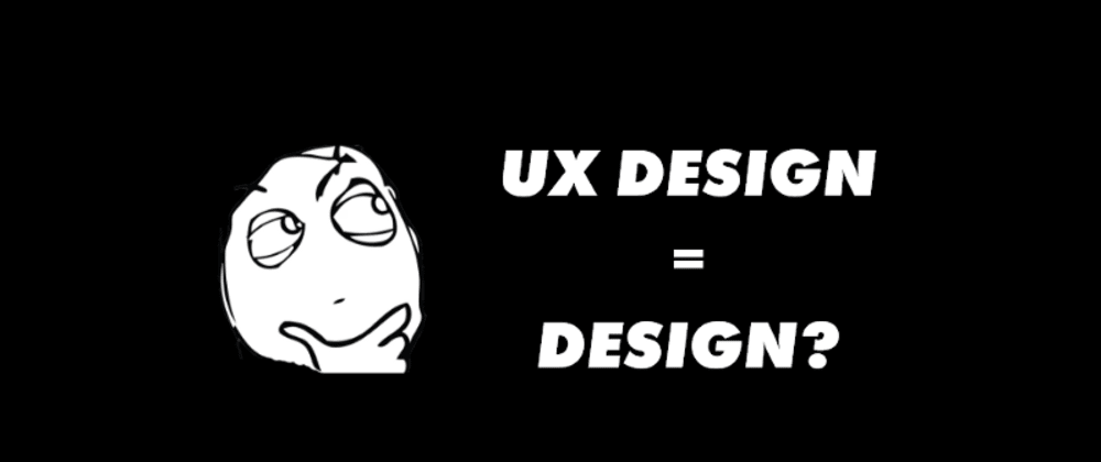 Cover image for Is UX Design just design?