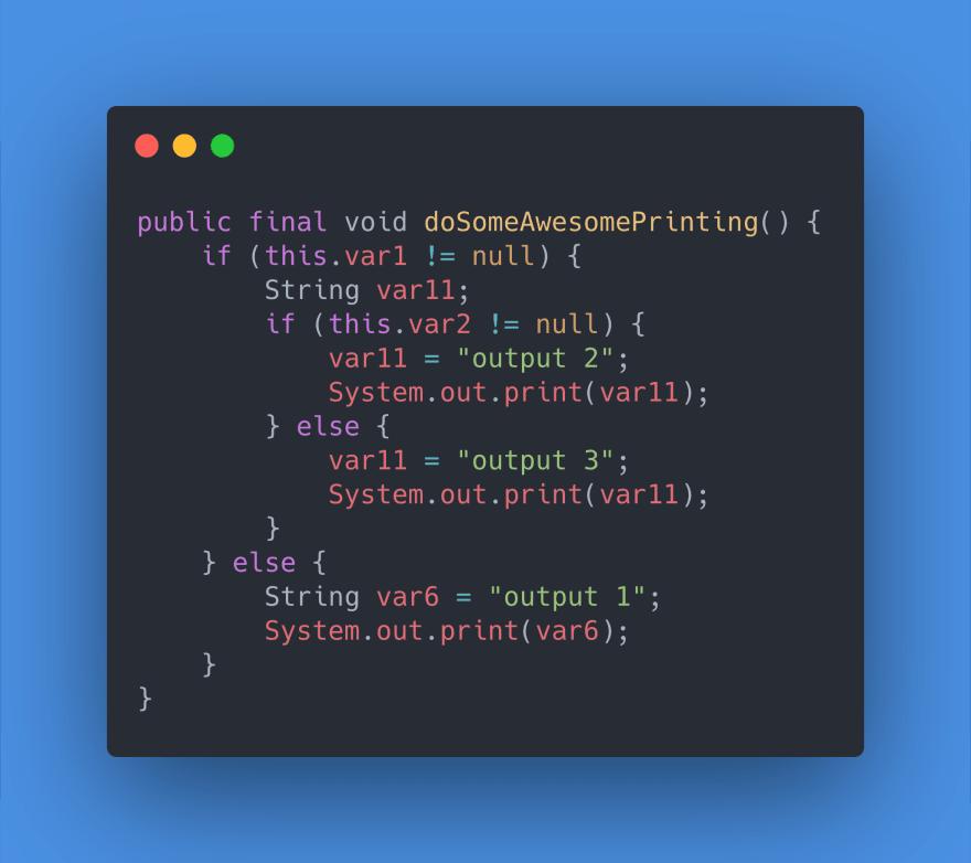 Example 2 - Java