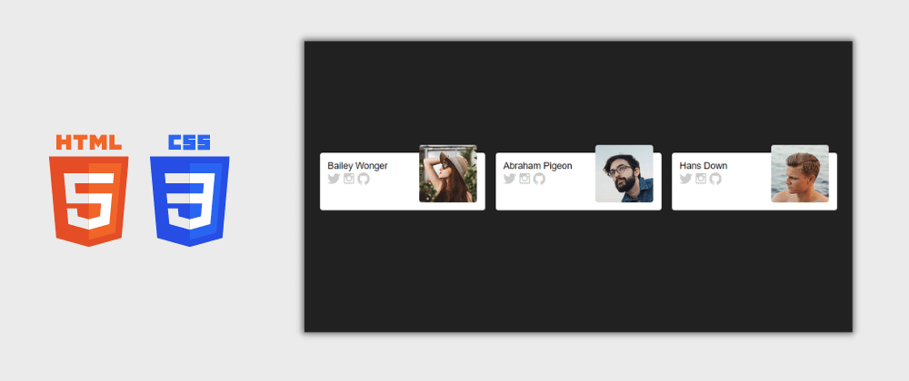 Cover image for Day 22/30 : Amazing Profile Cards Design Using HTML and CSS