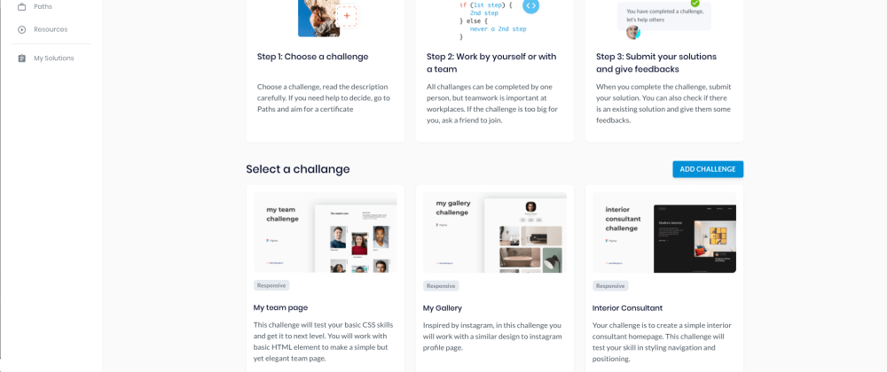 Cover image for How I created devchallenges.io in just 3 Months in my free time