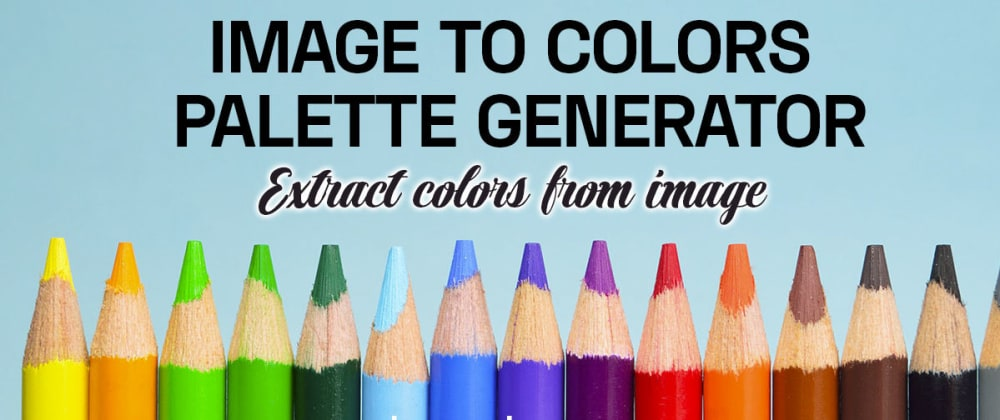 Cover image for Color palette from Images