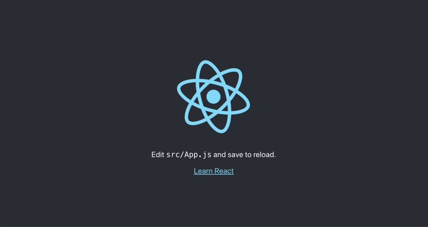 React template project