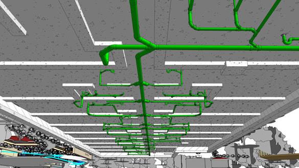 mep-bim-modeling-underground-drainage