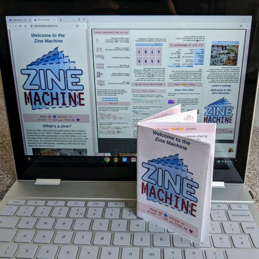 The printed zine