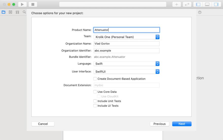 Creating Host App - Settings