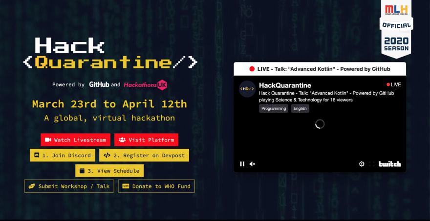 Hack Quarantine