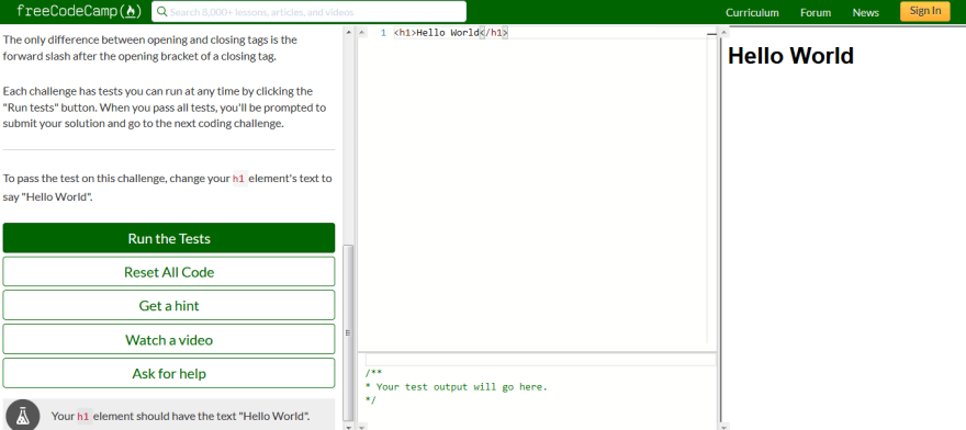 My review on freeCodeCamp's curriculum - DEV Community