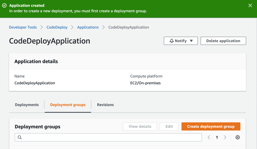 ApplicationCreated