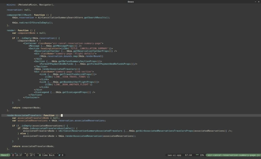 My overloaded Emacs configuration