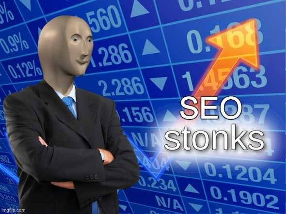 SEO stocks going up
