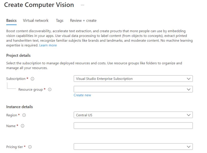 2021-04-03 21_14_38-Create Computer Vision - Microsoft Azure - Brave