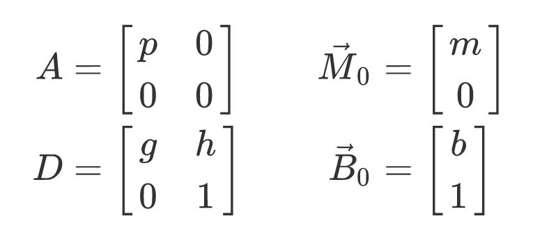 A, D solutions