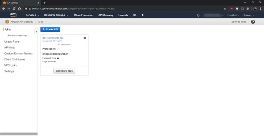 Serverless API Gateway