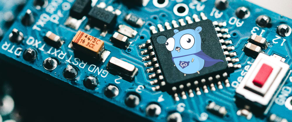 Cover image for How to write Go code and make it run on Adafruit Feather or Arduino