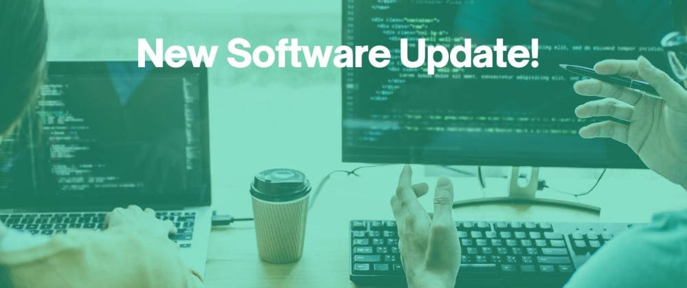 Cover image for CodeCast: New Software Update!