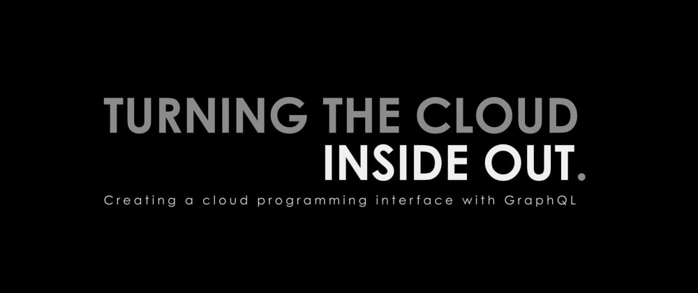 Cover Image for Turning the Cloud Inside Out